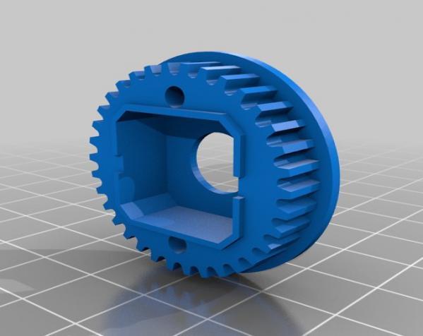 1:10遥控差速器 3D模型  图3