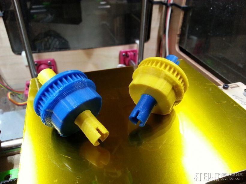 1:10遥控差速器 3D模型  图8