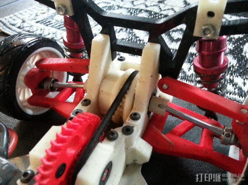 1:10遥控差速器 3D模型  图10