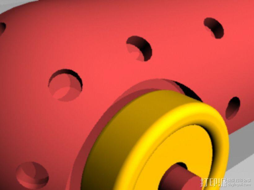 Airprop玩具车 3D模型  图4