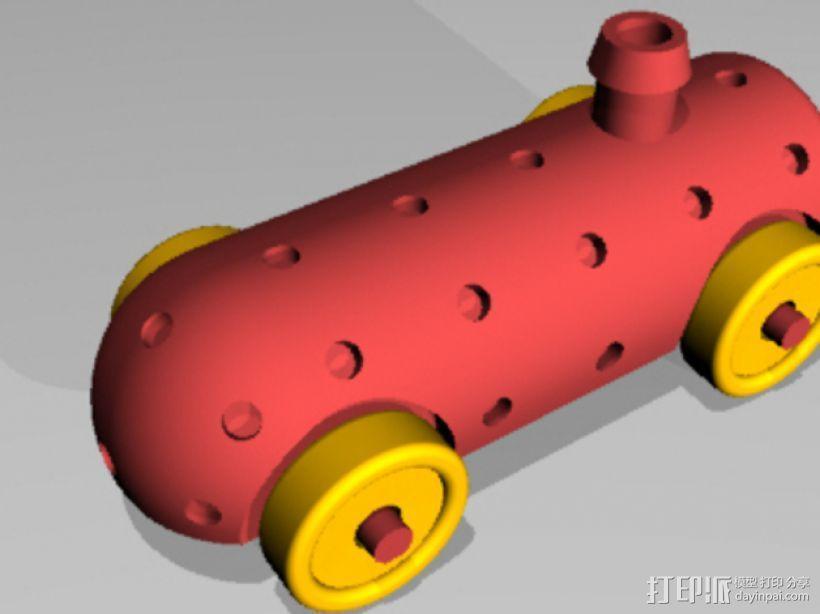 Airprop玩具车 3D模型  图2