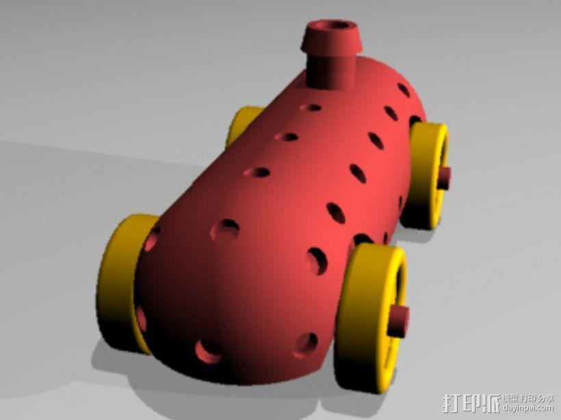 Airprop玩具车 3D模型  图3