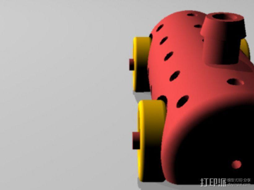 Airprop玩具车 3D模型  图5