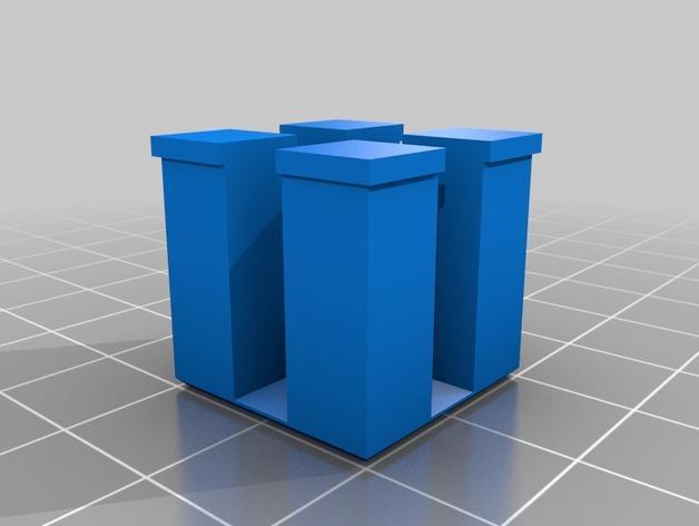 礼物盒 3D模型  图1