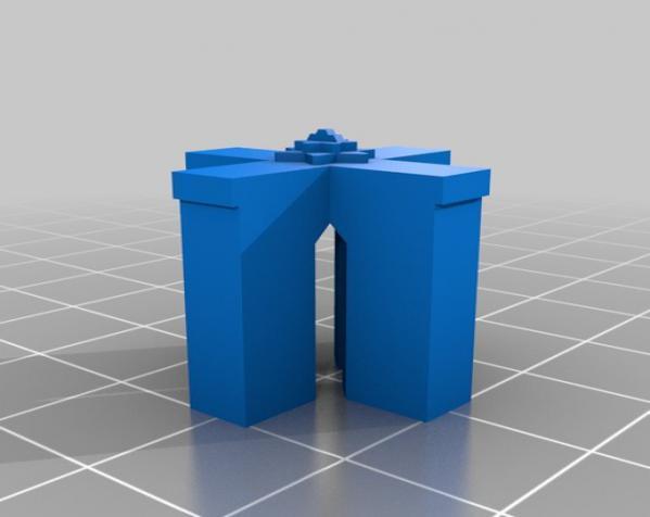 礼物盒 3D模型  图2