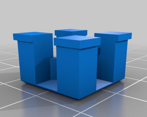 礼物盒 3D模型  图3