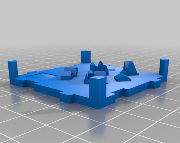 桌游《Carcassonne》模型 3D模型  图5