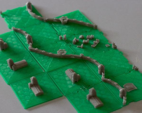 桌游《Carcassonne》模型 3D模型  图8