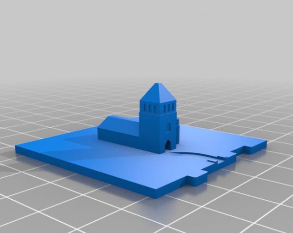 桌游《Carcassonne》模型 3D模型  图11