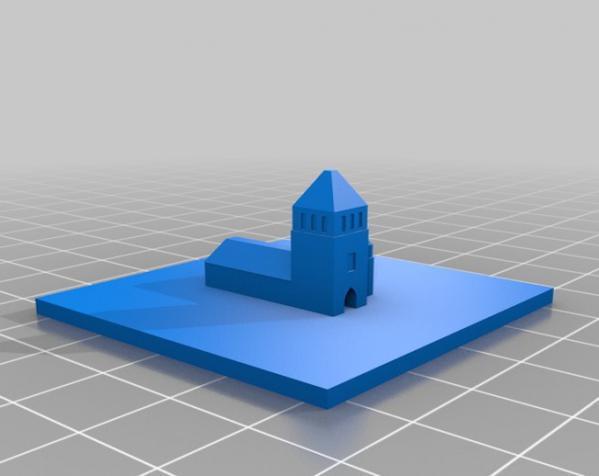 桌游《Carcassonne》模型 3D模型  图10