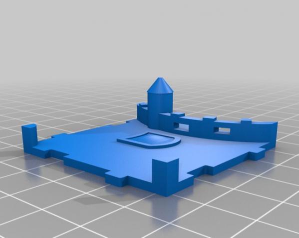 桌游《Carcassonne》模型 3D模型  图14