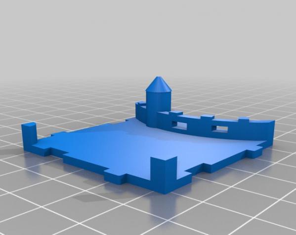 桌游《Carcassonne》模型 3D模型  图13