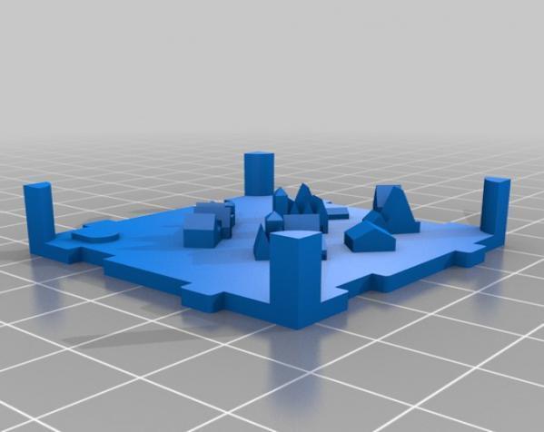 桌游《Carcassonne》模型 3D模型  图12