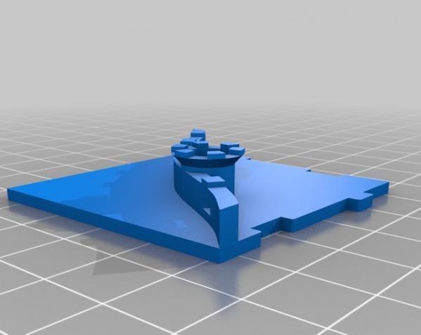桌游《Carcassonne》模型 3D模型  图15