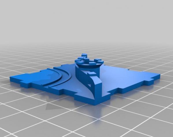 桌游《Carcassonne》模型 3D模型  图19