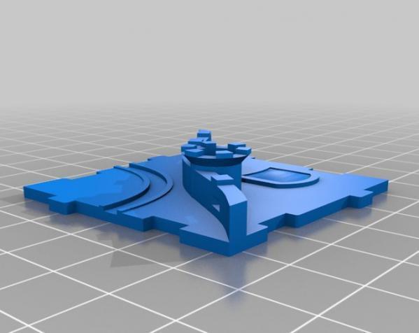 桌游《Carcassonne》模型 3D模型  图20
