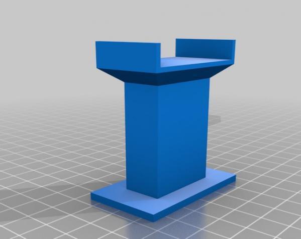 木质火车轨道 3D模型  图3