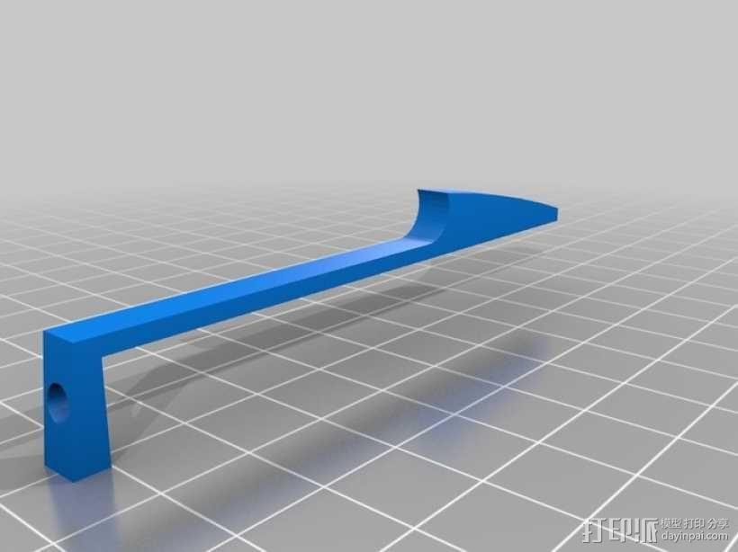 机械式读卡器 3D模型  图2