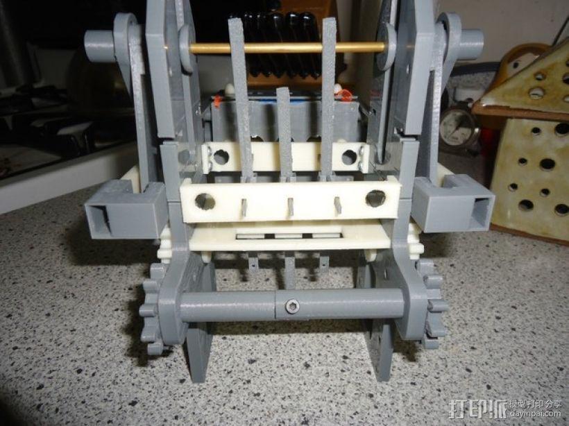 机械式读卡器 3D模型  图1