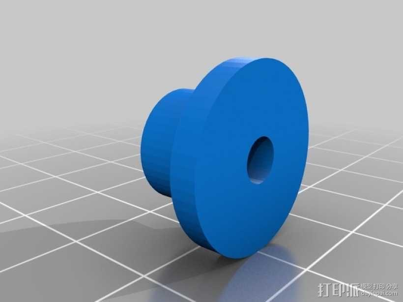 机械式读卡器 3D模型  图4