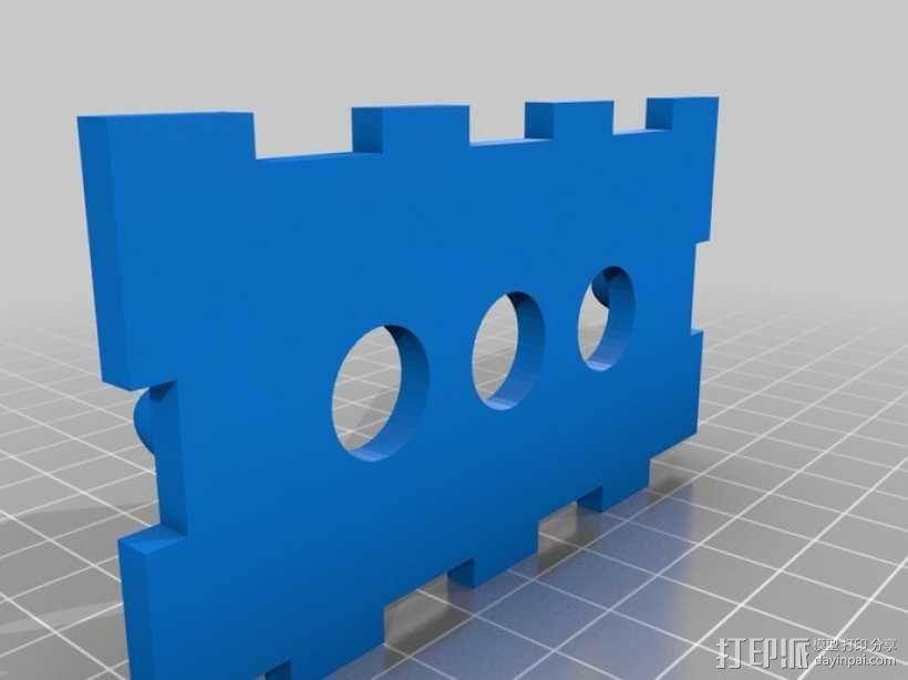 机械式读卡器 3D模型  图3