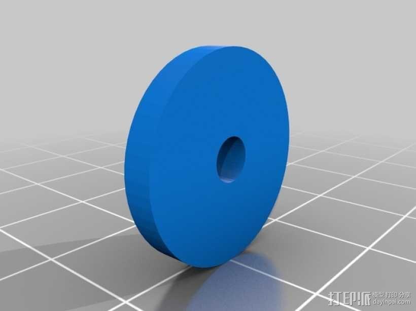 机械式读卡器 3D模型  图7