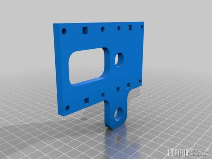 机械式读卡器 3D模型  图10