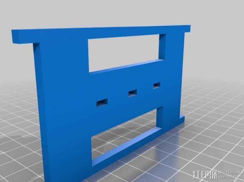 机械式读卡器 3D模型  图13
