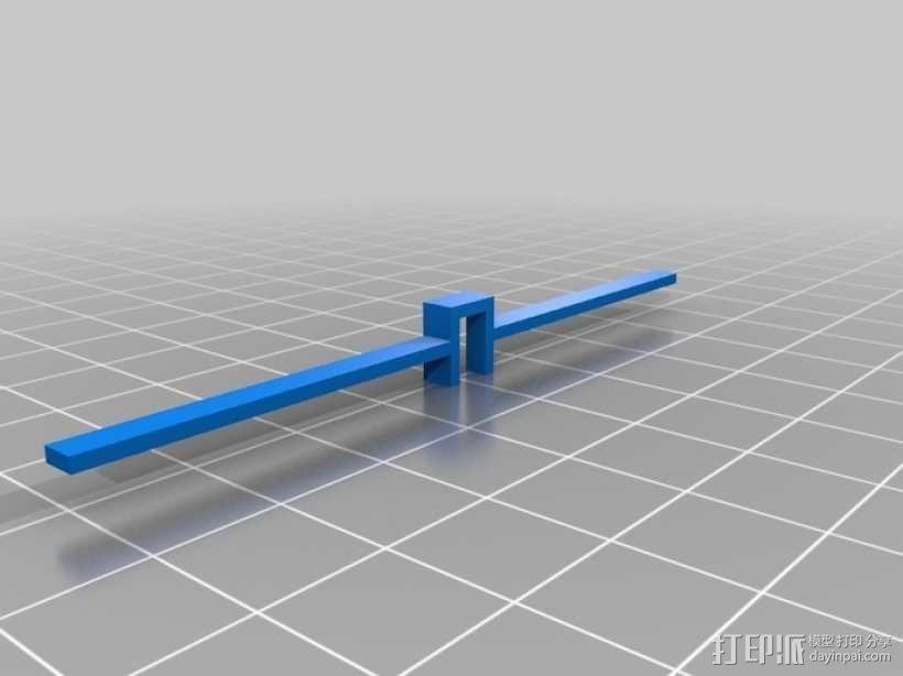 机械式读卡器 3D模型  图15