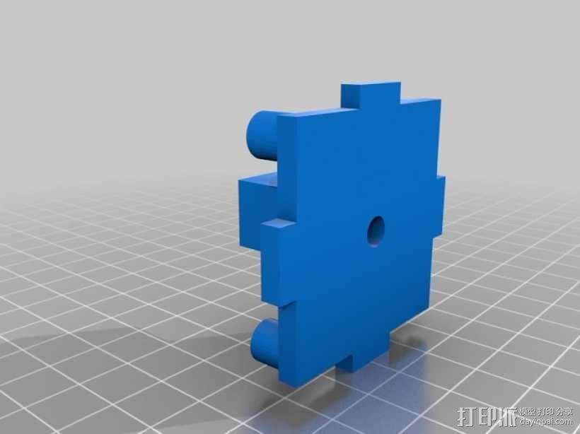 机械式读卡器 3D模型  图19