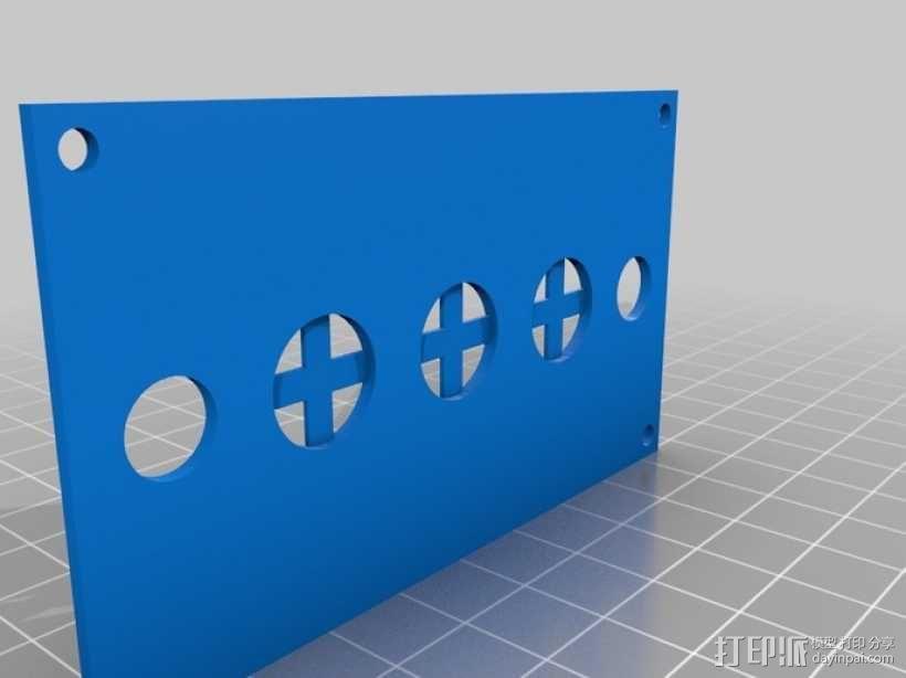 机械式读卡器 3D模型  图22