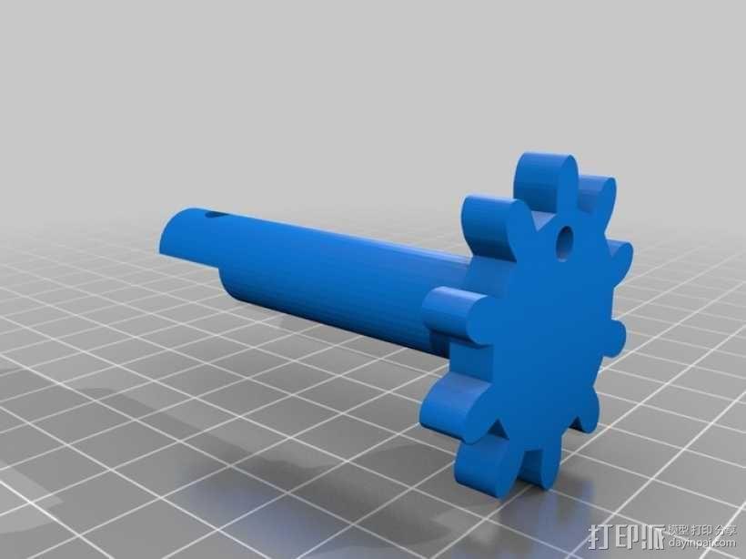 机械式读卡器 3D模型  图21