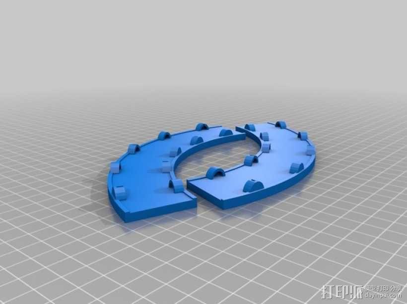 多米诺骨牌轨道 3D模型  图4