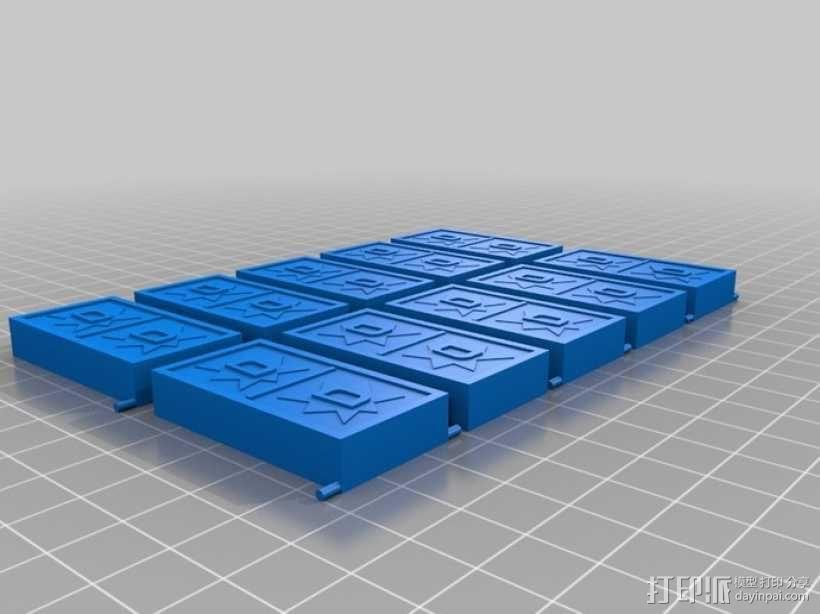 多米诺骨牌轨道 3D模型  图7