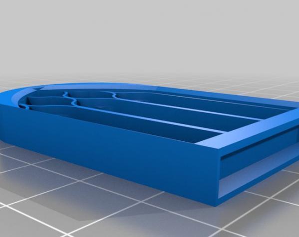 哥特式窗户 3D模型  图1
