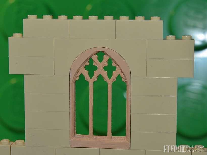 哥特式窗户 3D模型  图3