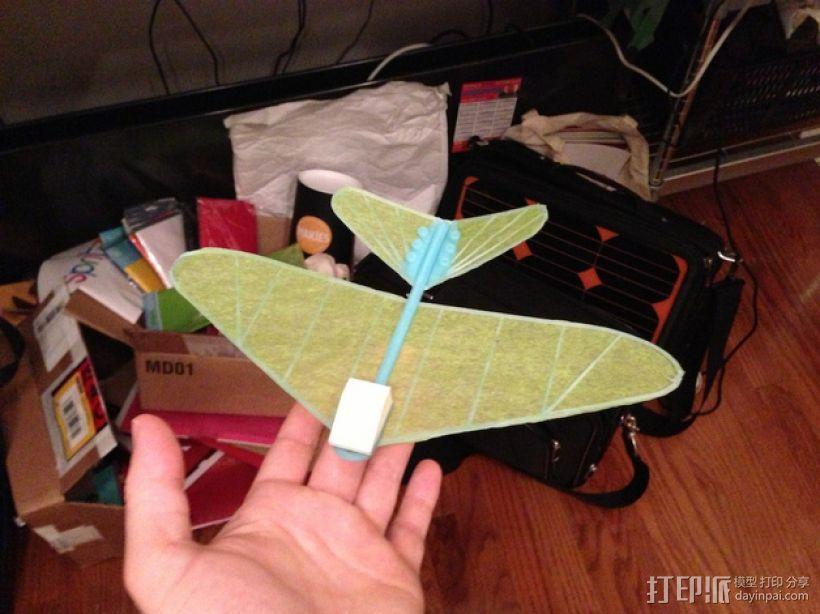 纸飞机 3D模型  图2