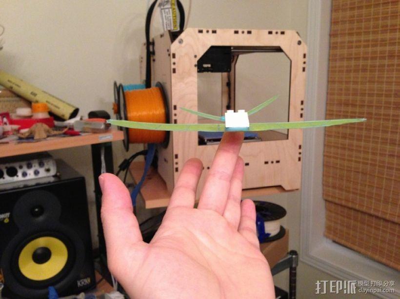 纸飞机 3D模型  图3