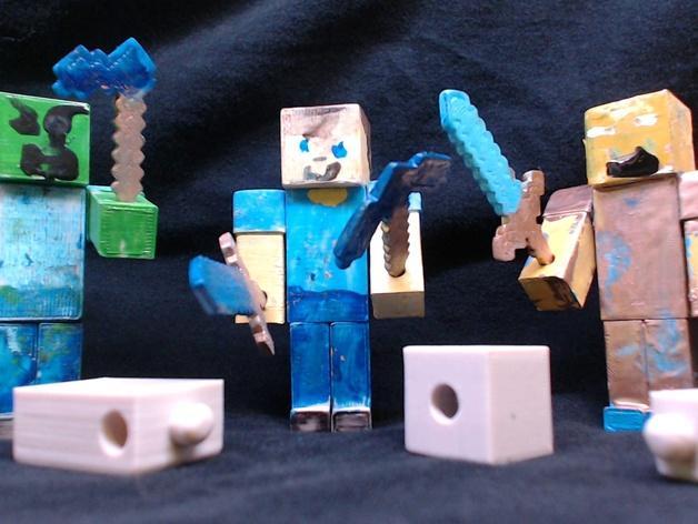 游戏《MineCraft》玩偶 3D模型  图1