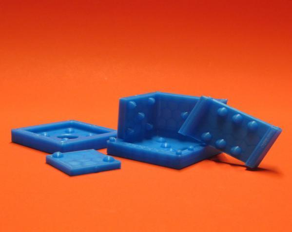 骰子模具 3D模型  图2