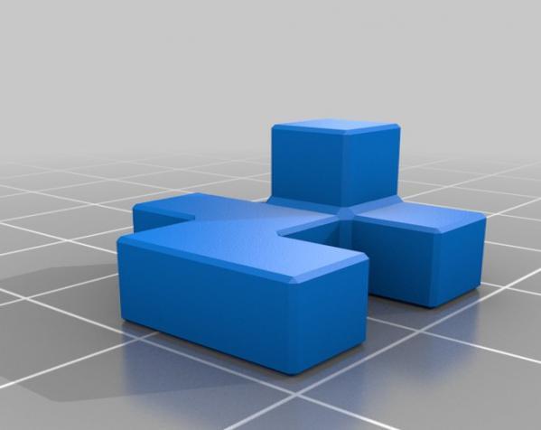 联锁拼图#1 3D模型  图2