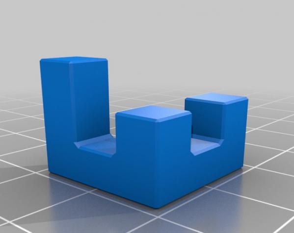 联锁拼图#1 3D模型  图1