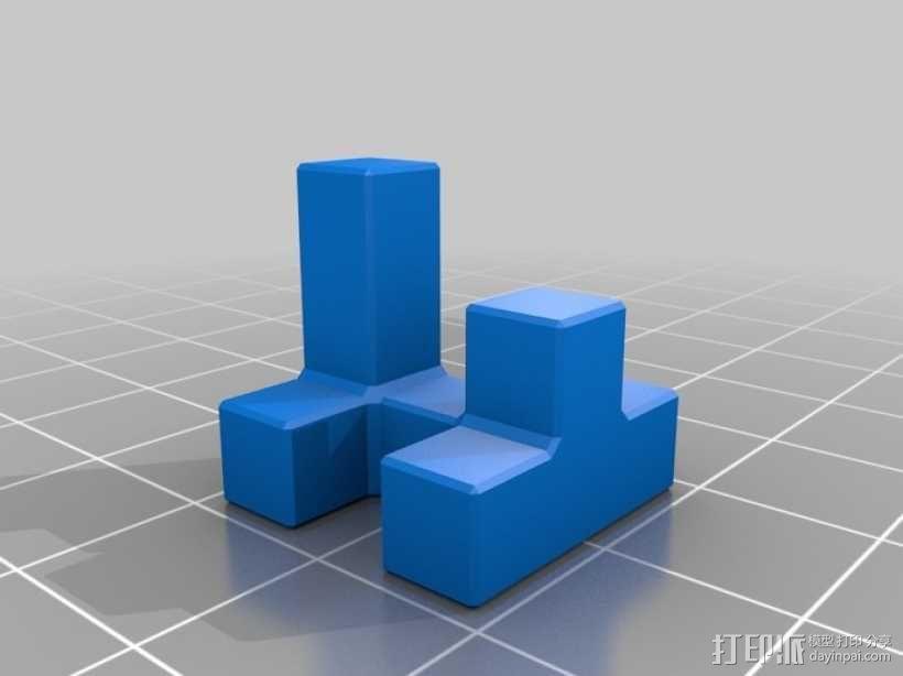 联锁拼图#1 3D模型  图3