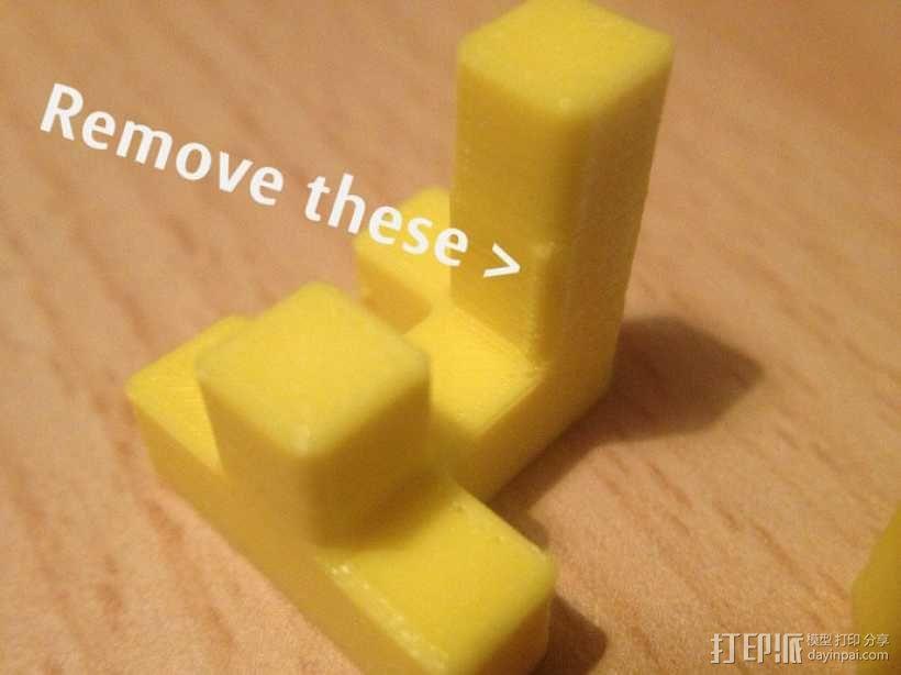 联锁拼图#1 3D模型  图5