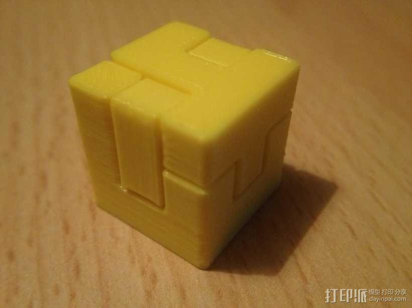 联锁拼图#1 3D模型  图6