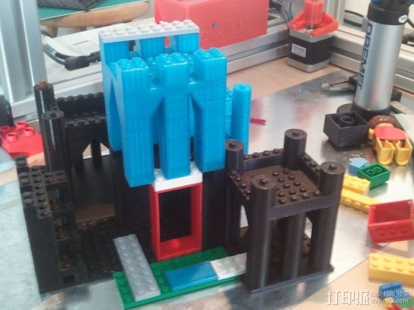 模块化城堡工具包 3D模型  图1