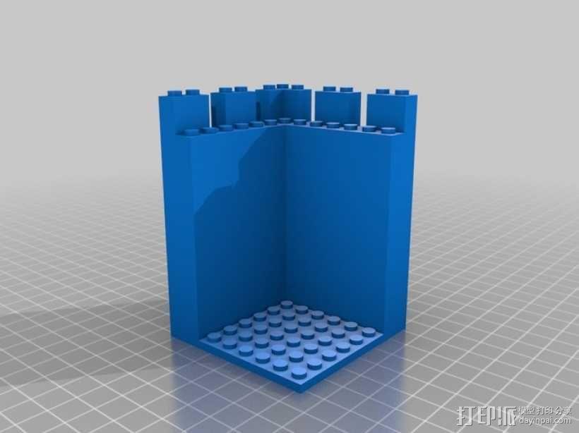 模块化城堡工具包 3D模型  图3
