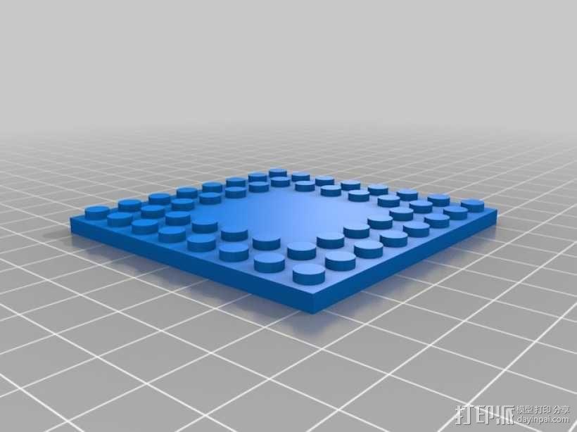 模块化城堡工具包 3D模型  图2