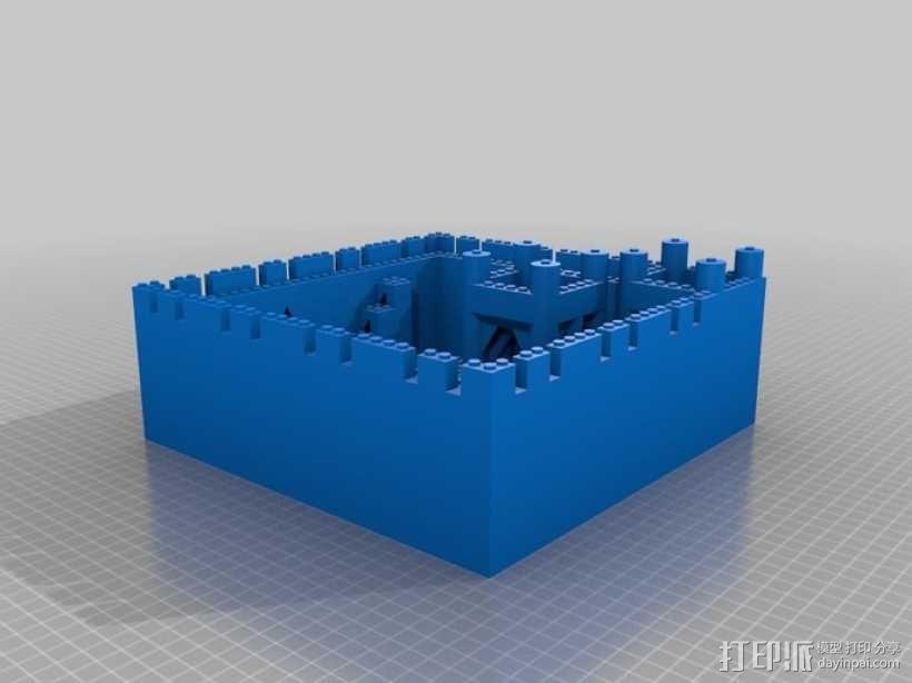 模块化城堡工具包 3D模型  图5