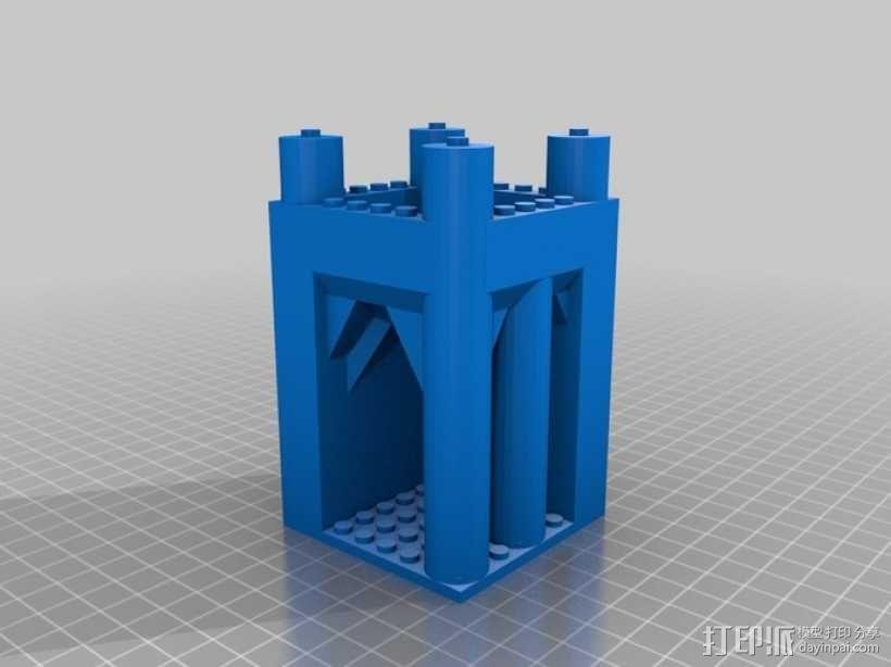 模块化城堡工具包 3D模型  图4